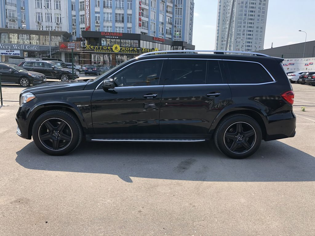 Аренда Mercedes-Benz GLS